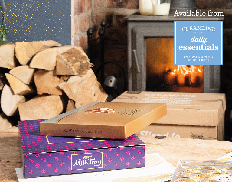 Cosy chocolates and logs