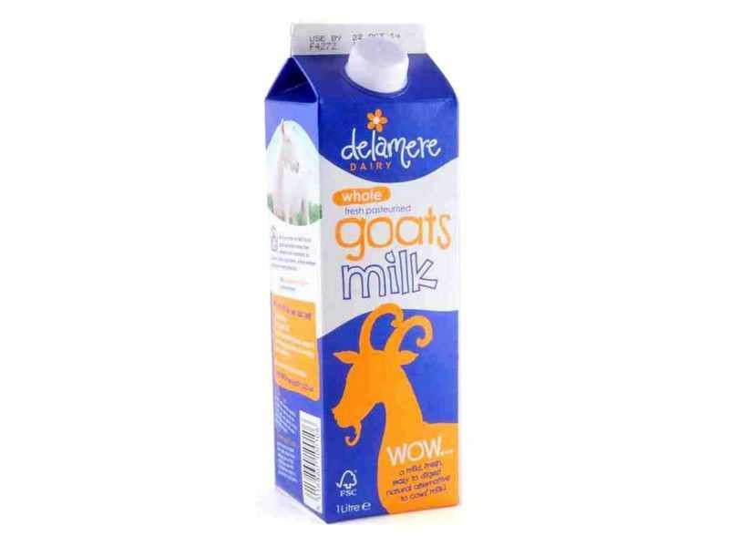 Delamere Dairy Whole Pasteurised Goat's Milk (1 litre)