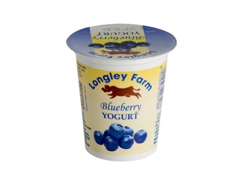 150g Longley Farm Blueberry Yogurt
