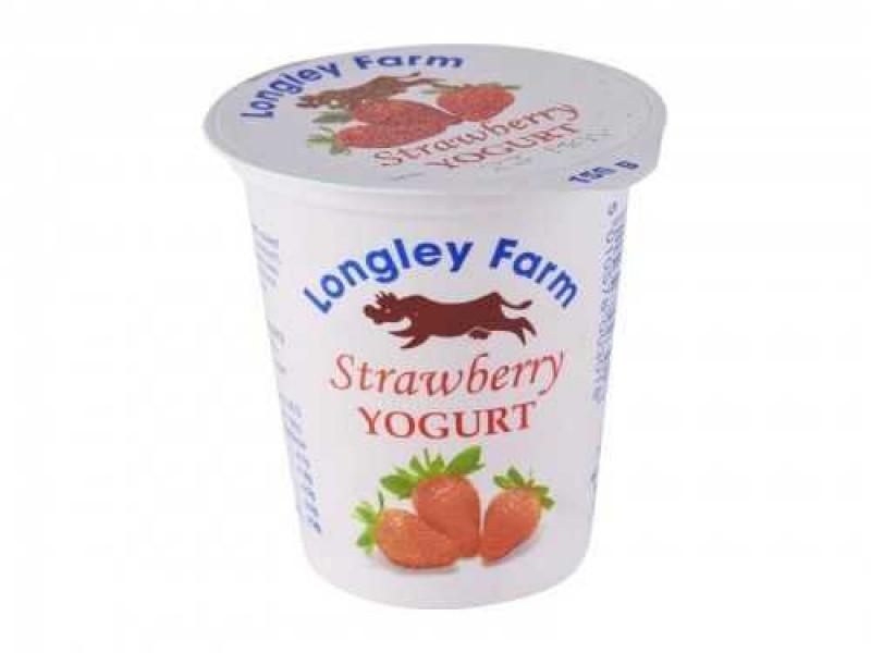 Longley Farm Strawberry Yogurt (150g)