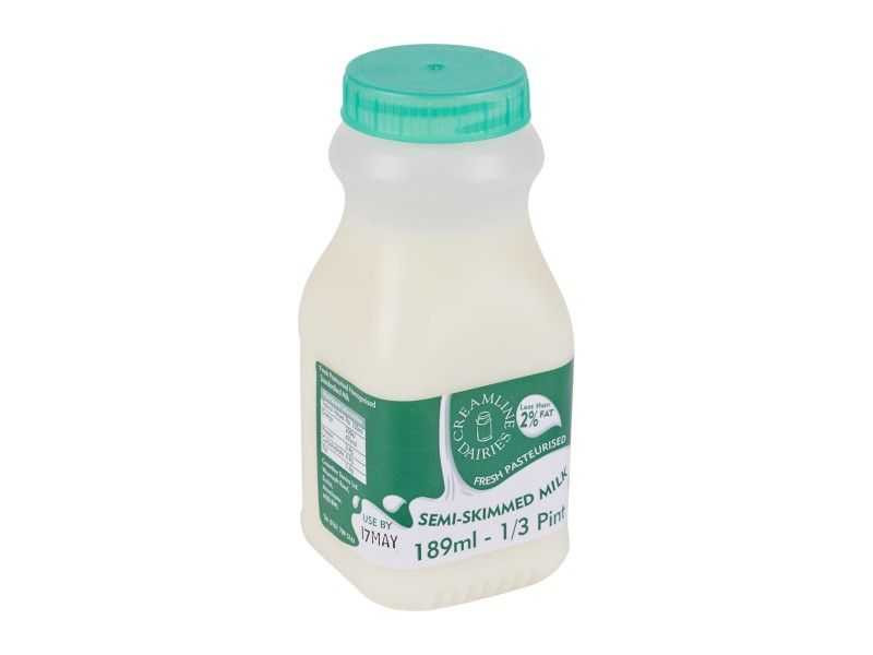 Semi-Skimmed - Reseal Poly Bottle (189ml)