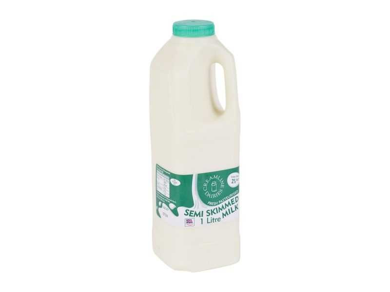 Semi-Skimmed Milk - Poly Bottle (1 Litre)