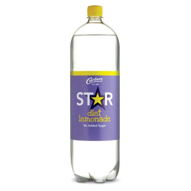 Carters Star Diet Lemonade (2 litre)