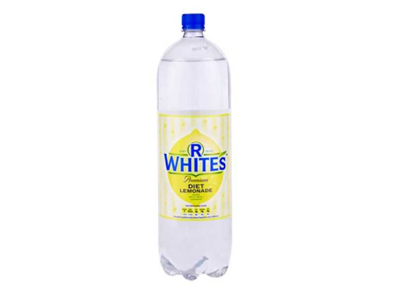 R Whites Diet Lemonade (2 litre)