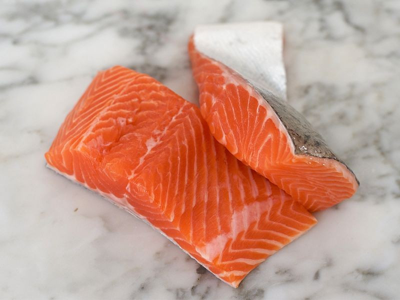 2 Sea Trout Fillets (350g)