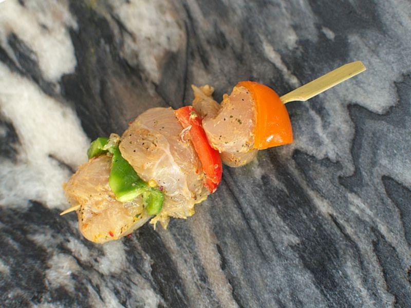 2 x Salt & Pepper Chicken Kebabs