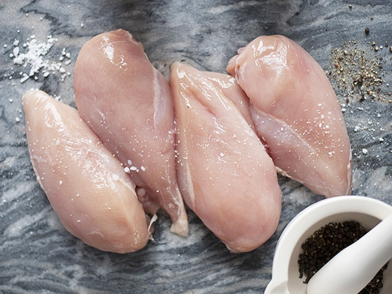4 Free Range Chicken Fillets (1kg)
