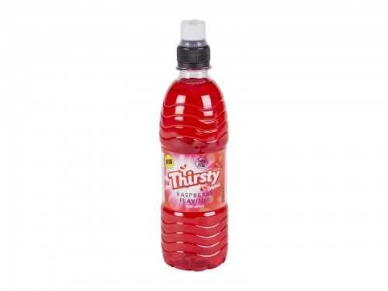 Thirsty Raspberry Drink (500ml)