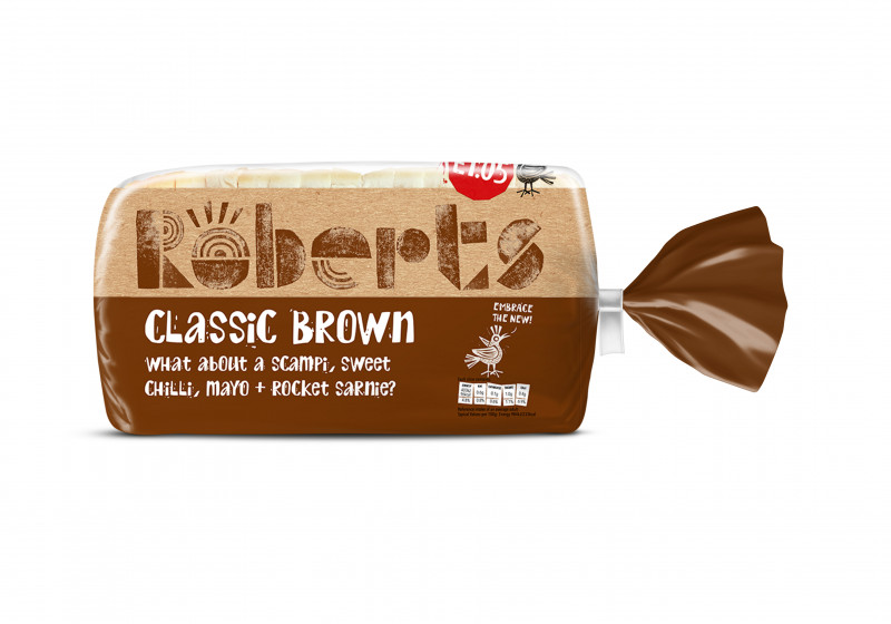 Brown Medium Sliced Bread (800g)