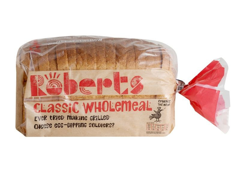 Wholesome Wholemeal Sliced Bread (800g)
