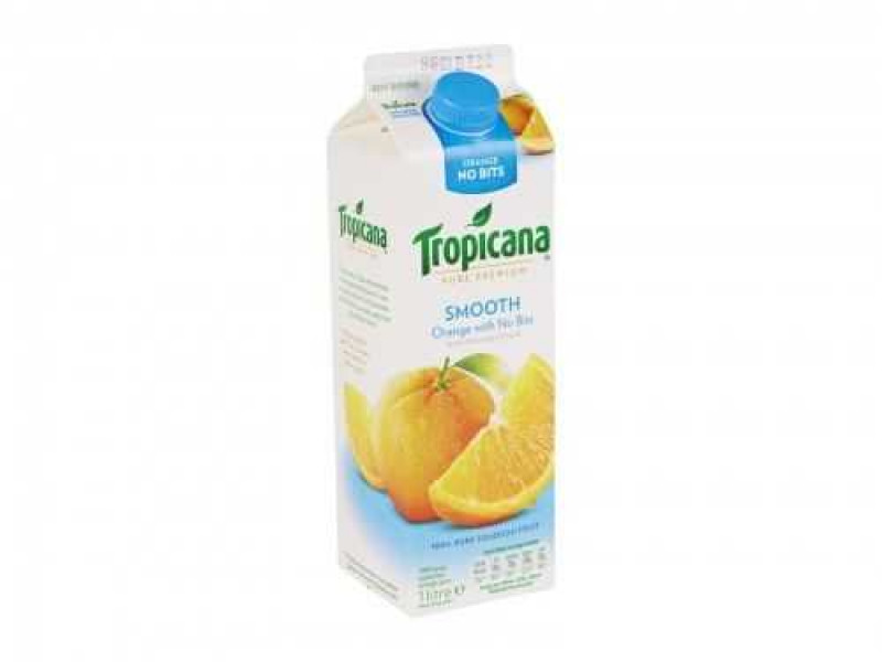 Tropicana Smooth Orange Juice (Carton / 950ml)
