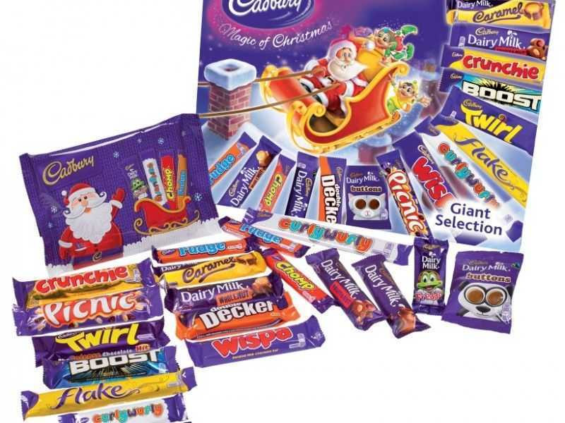 Cadbury Giant Selection Box