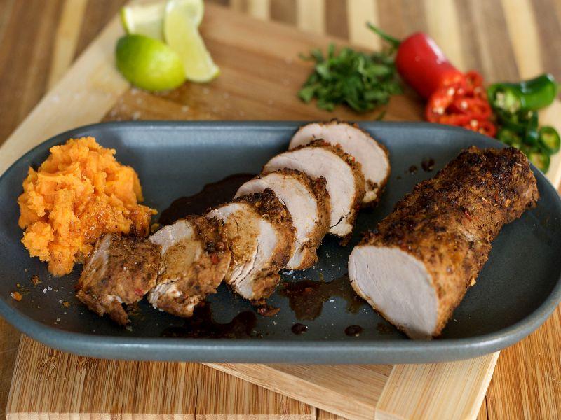 Mexican Pork Tenderloin