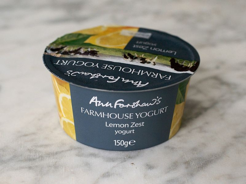Ann Forshaw's Farmhouse Yogurt Lemon Zest (150g)
