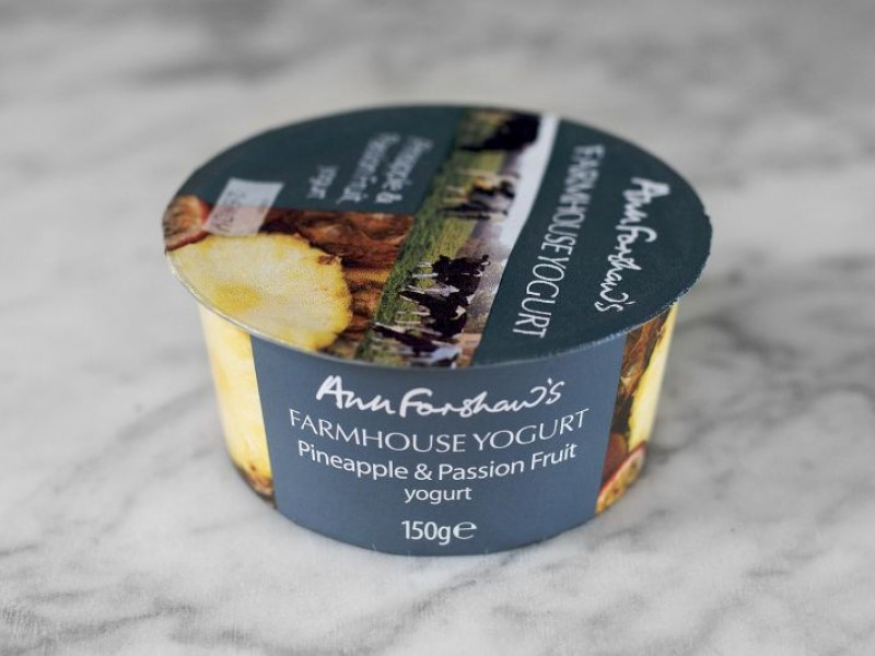 Ann Forshaw's Farmhouse Yogurt Pineapple & Passion Fruit 150g