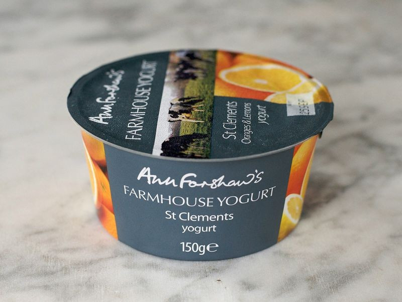 Ann Forshaw's Farmhouse Yogurt St Clements (150g)