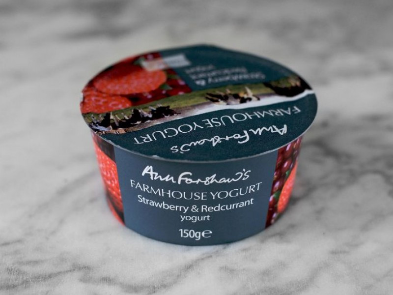 Ann Forshaw's Farmhouse Yogurt Strawberry & Redcurrant 150g