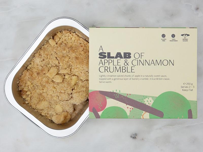 Slab of Apple & Cinnamon Crumble 250g