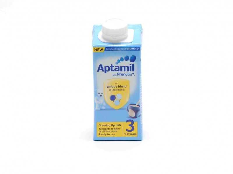 15 Aptamil with Pronutra+ Growing Up Milk 3 1-2 years (200ml)