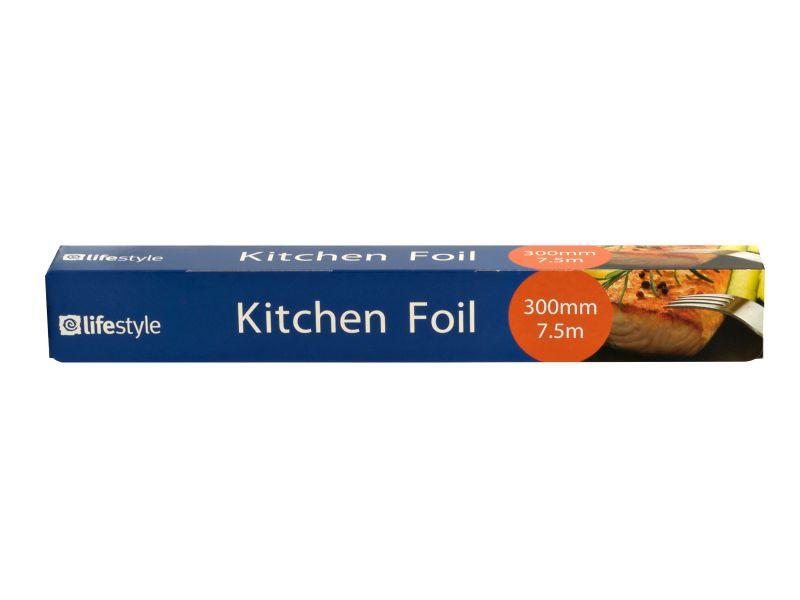 Lifestyle Kitchen Foil (300mm x 7.5m)