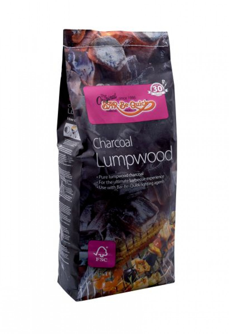 Bar-Be-Quick  Charcoal Lumpwood 4.5kg