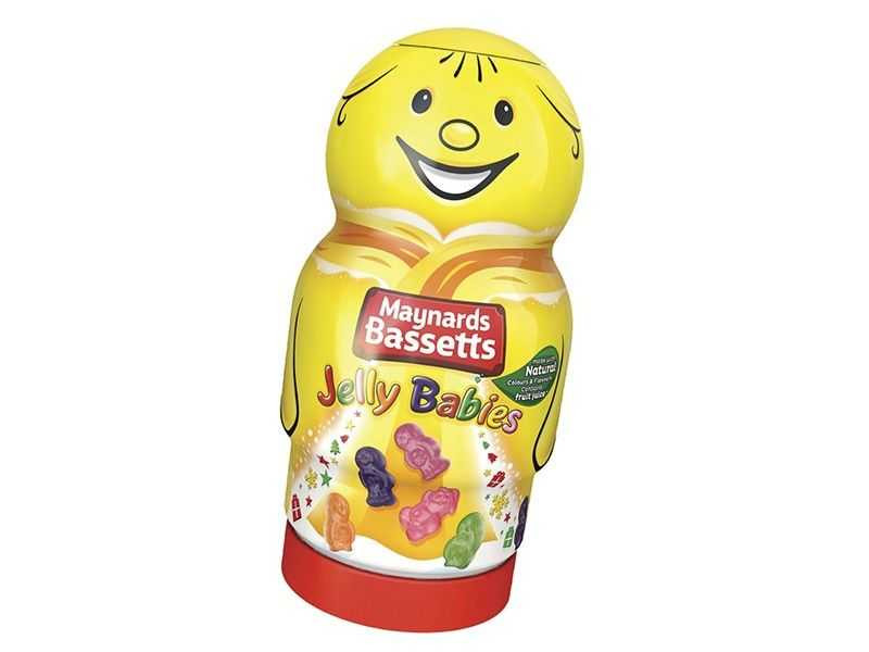 Bassetts Jelly Babies Novelty Jar (495g)