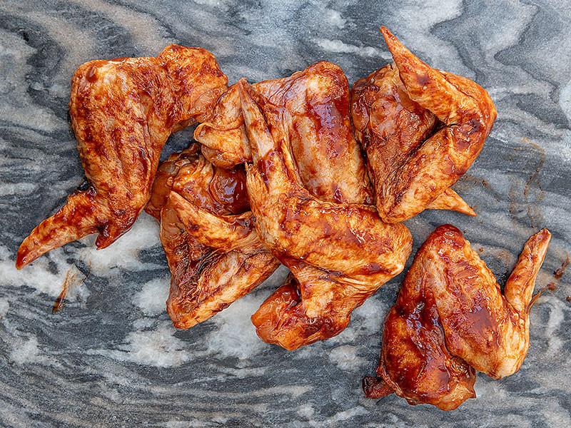 BBQ Chicken Wings x 6