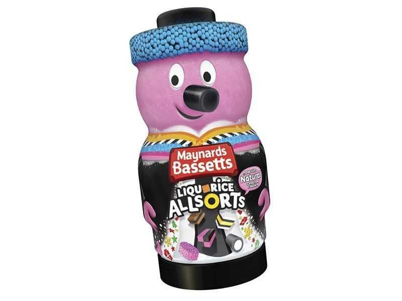 Bertie Bassett Liquorice Allsorts Novelty Jar (495g)
