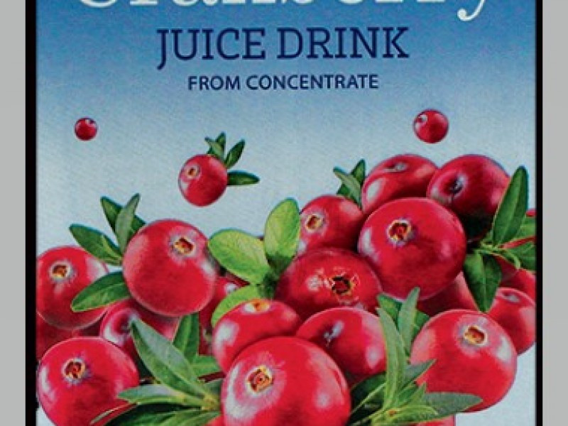 Bramble Hill Cranberry Juice Drink  (1 litre / Carton)