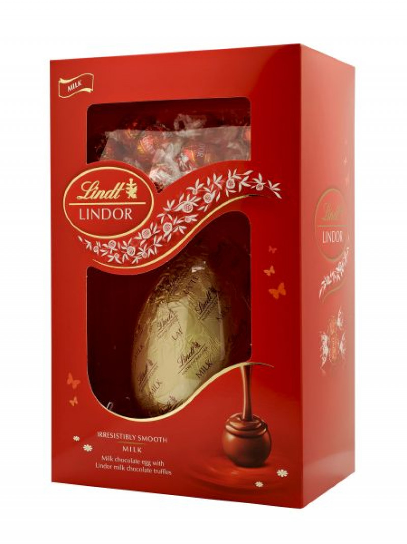Lindt Lindor Eggs with Truffles 285g