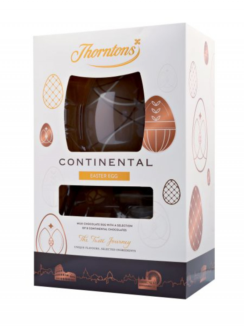 Thornton Continental Gift Egg 256g