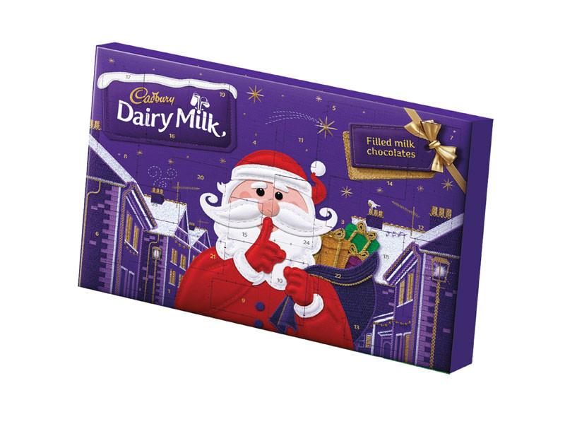 Cadbury Santa's Secret Advent Calendar (200g)