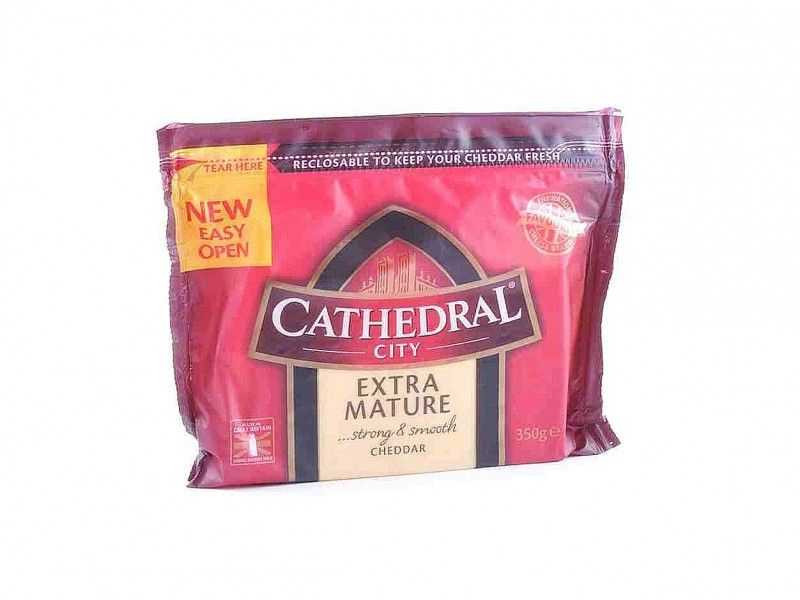 Cathedral City Extra Mature Cheddar Cheese (350g)