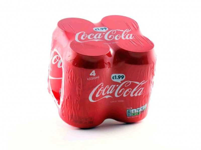Coke Multipack Cans (4 x 330ml)