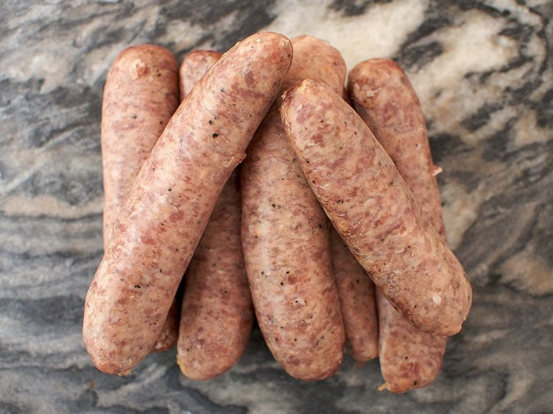 Cracked Black Pepper Sausages ( 8 sausages / 1kg)