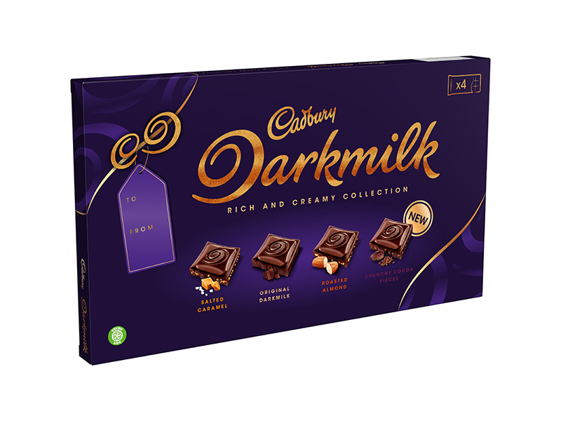 Dark Milk Selection Box 340g