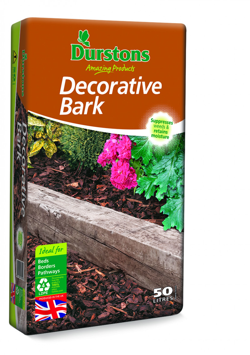 Durstons 50 litre Landscape Bark  (x 3)