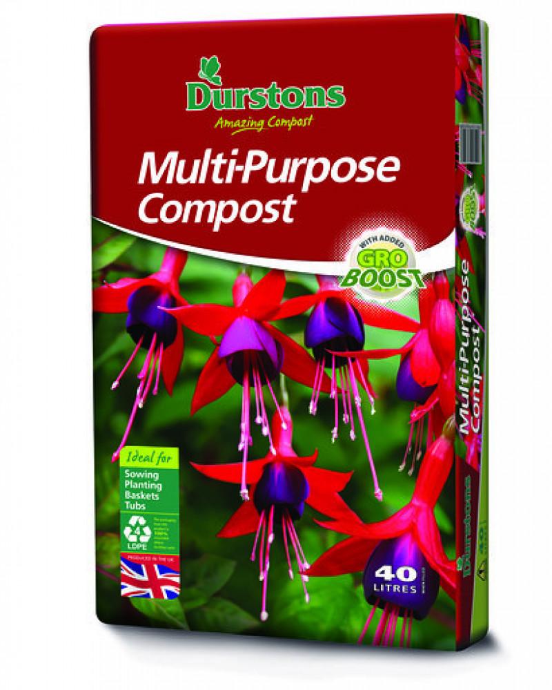 Durstons Multi Purpose Compost  (40 litre bag x 3)