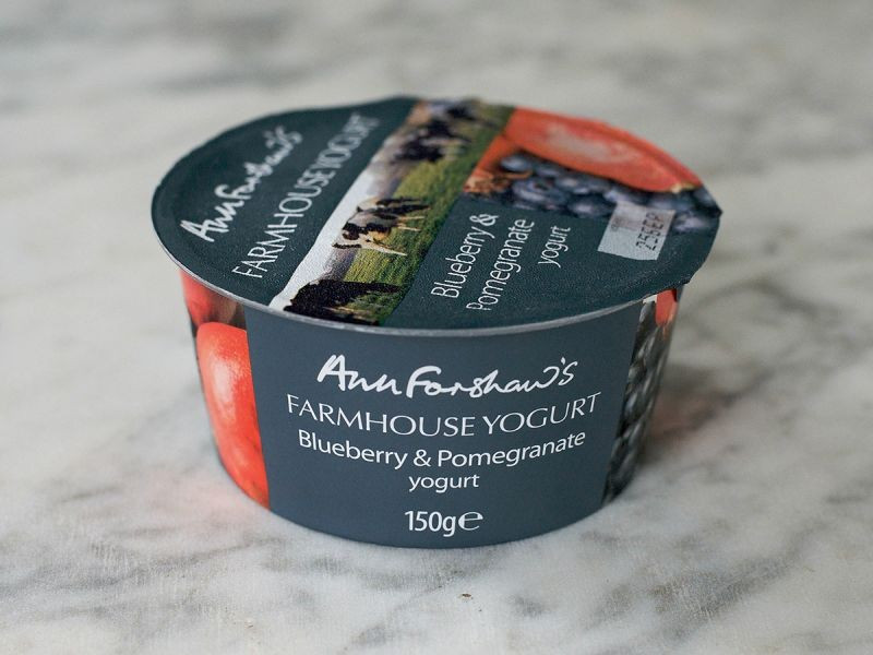 Ann Forshaw's Farmhouse Yogurt Blueberry & Pomegranate (150g)