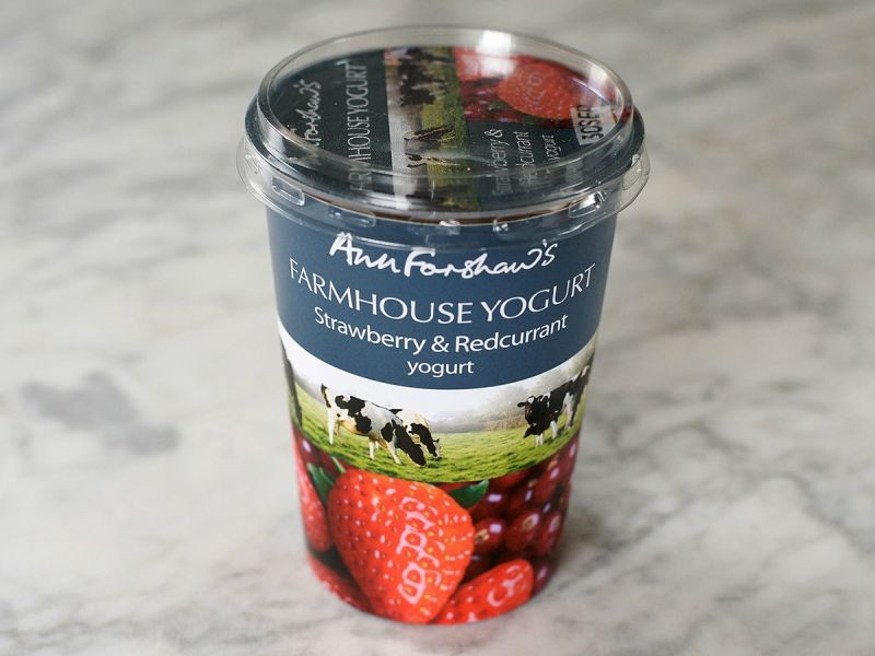 Ann Forshaw's Farmhouse Strawberry & Redcurrant Yogurt (450g)