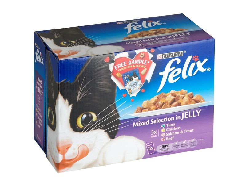 Felix Pouch Mixed Selection (12 x 100g)