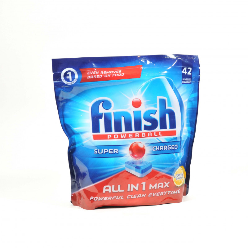 Finish Powerball Super Charged Dishwasher Tablets ( x42)