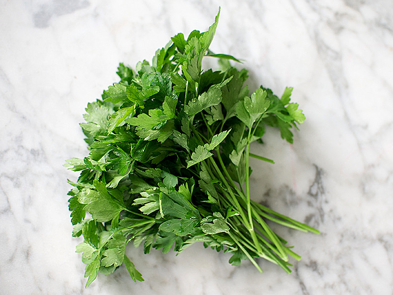 Fresh Bunch of Flat Leaf Parsley