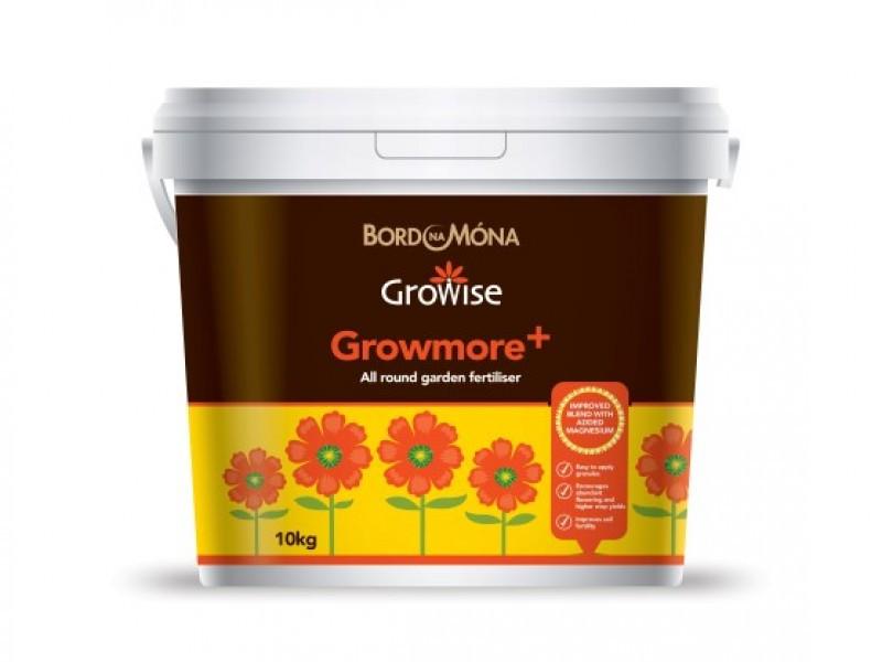 Growise Growmore+ Fertiliser (10kg Tub)