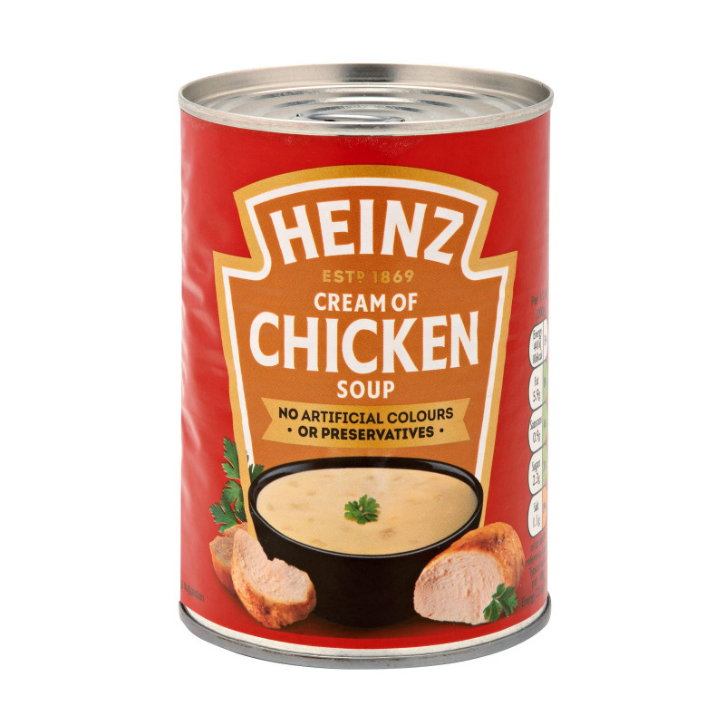 Heinz Cream of Chicken Soup (400g)