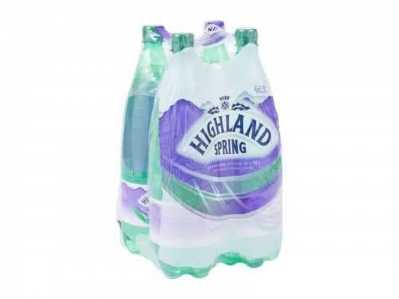 Highland Spring Sparkling Water (4 x 1.5 litre)