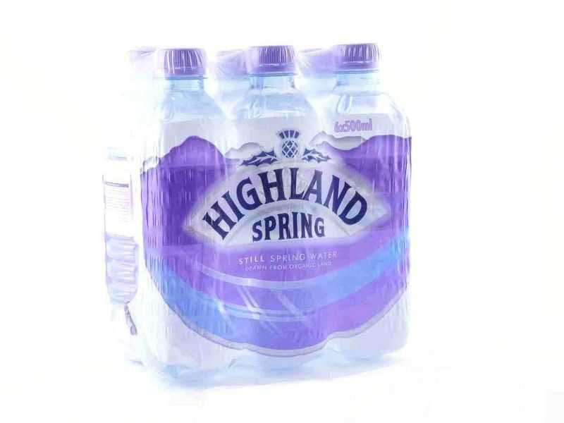 Highland Spring Still Mineral Water (6 x 500ml)
