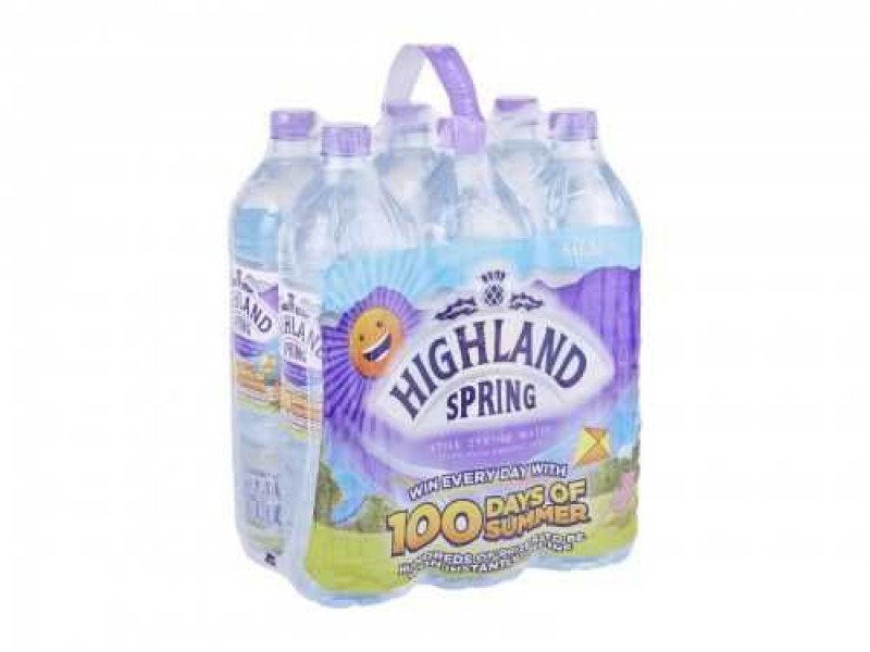 Highland Spring Still Water (6 x 1.5 litre)
