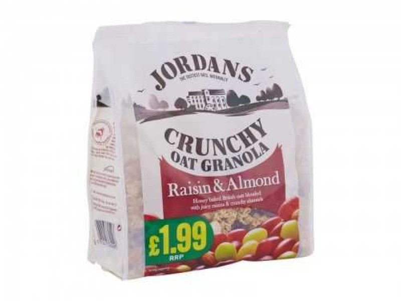 Jordans Crunchy Oat Granola Raisin & Almond (450g)