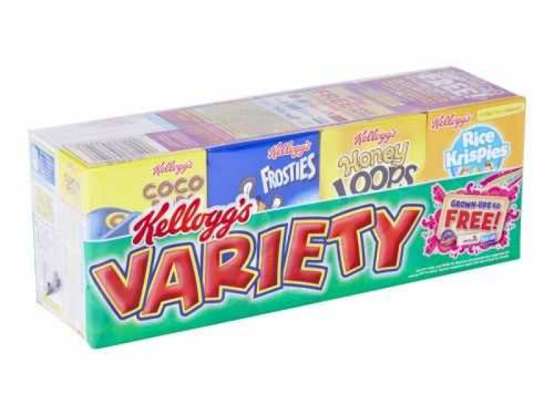 Kellogg's Cereal Variety Pack (8)